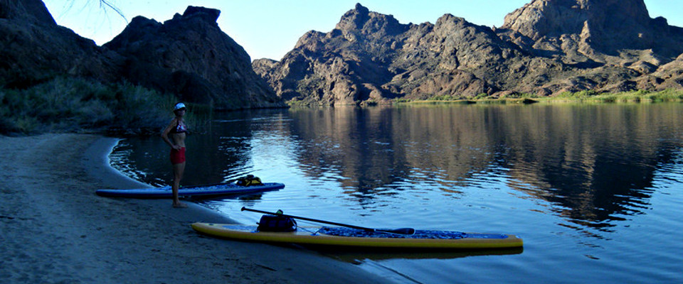 Kayaking Topok Gorge Lake Havasu