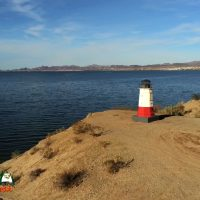 Red Lighthouse Lake Havasu Arizona