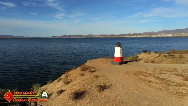 Red Lighthouse Lake Havasu Arizona